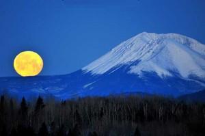 Mt. Katahdin by Moonlight