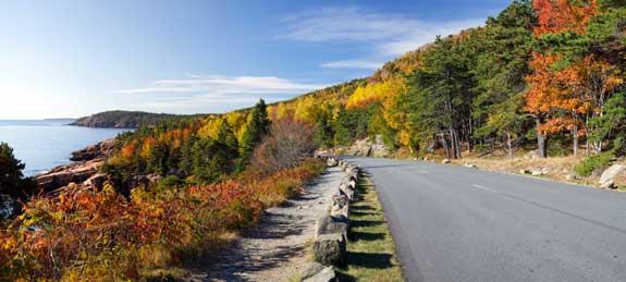 Acadia Park Loop Road
