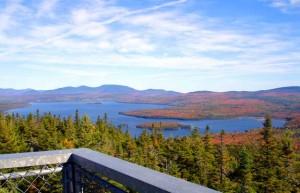 Bald Mountain In Rangeley Maine