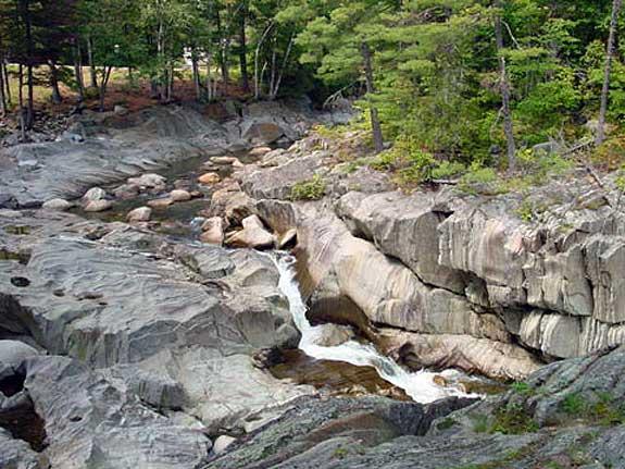 Coos Canyon Waterfalls, Byron Maine
