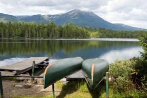 Daicey Pond in Baxter State Park