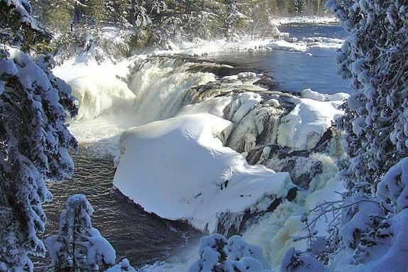 Grand Falls on the Dead River