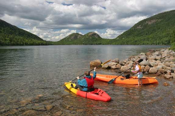 Acadia National Park Kayakers