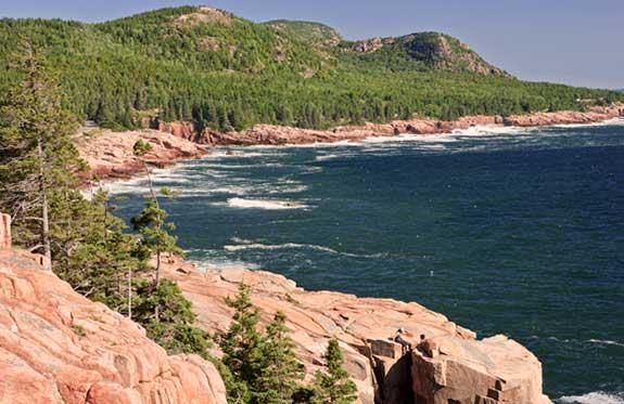 Acadia Park Otter Cliffs