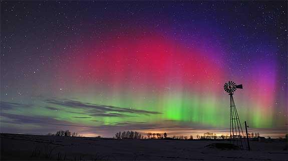 Maine Aurora Borealis