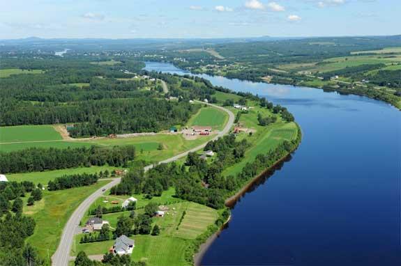 Longest Rivers In Maine - Ten longest rivers
