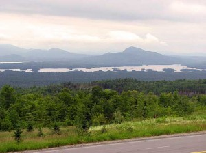 Attean Lake, Jackman Maine.