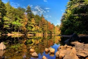 Lake Arrowhead, Waterboro Maine.